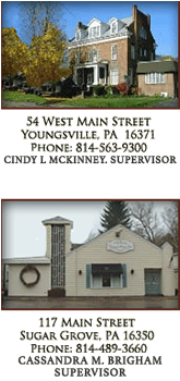 McKinney Funeral Home Inc  | Youngsville PA, Sugar Grove PA