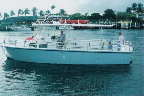 Coast Guard Certified Vessel for Sea Comittal